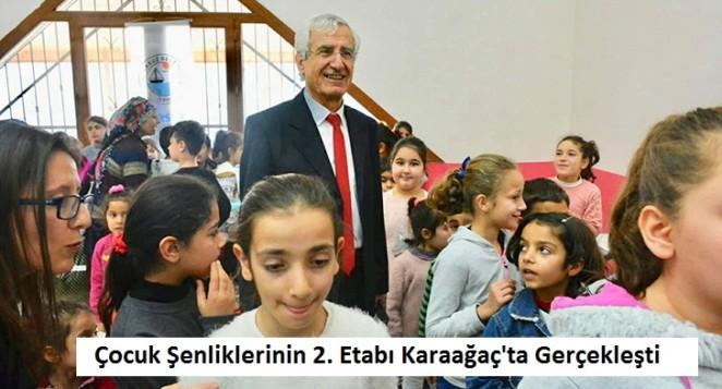 Çocuk Şenliklerinin 2. Etabı Karaağaç'ta Gerçekleşti